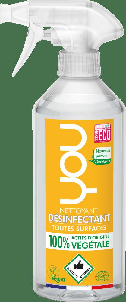 spray nettoyant desinfectant